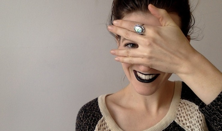 DIY Black Lipstick: Are We Feeling It? Is it a Couture-Inspired ...