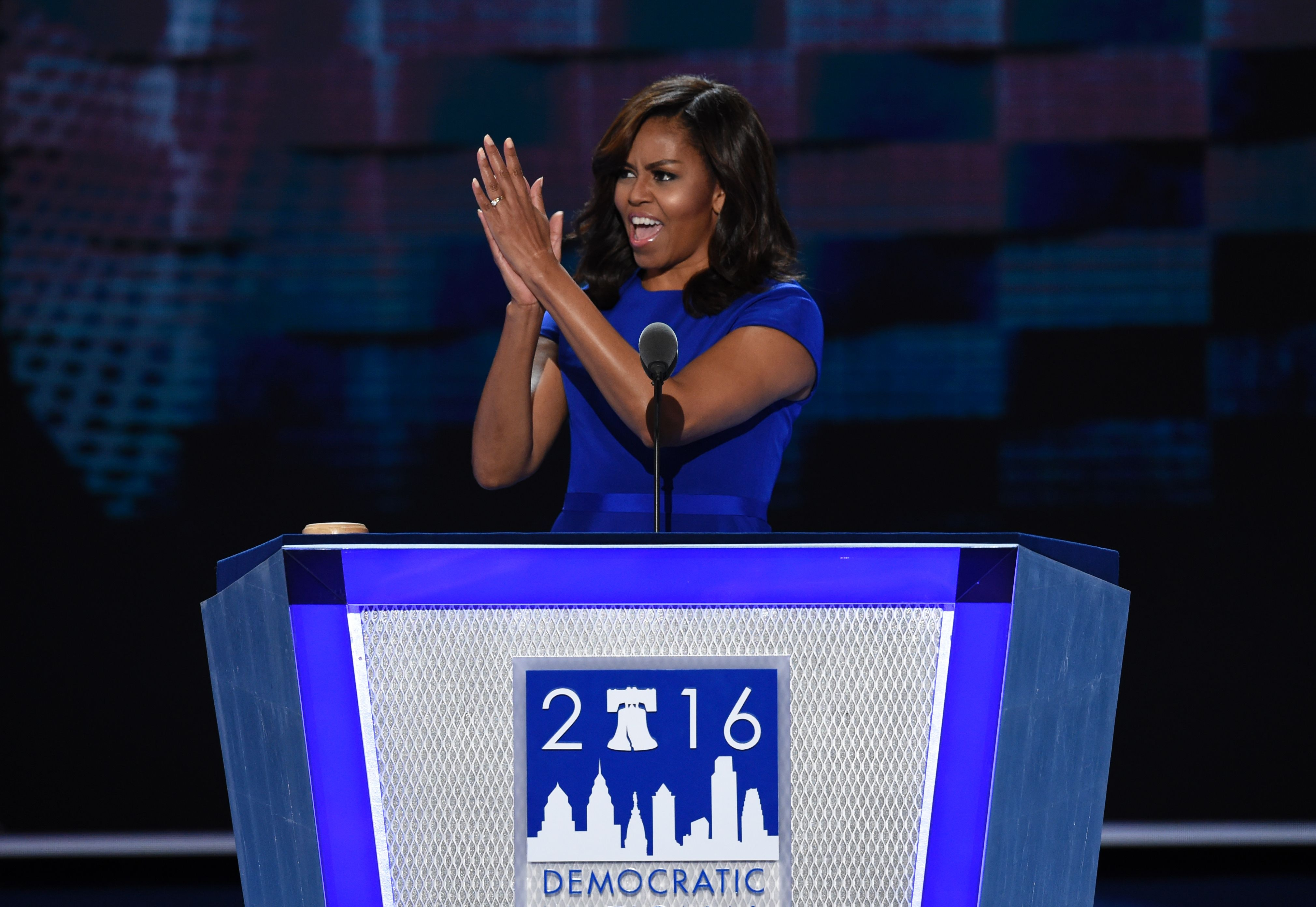 The Transcript Of Michelle Obama's DNC Speech Energized The Entire Crowd