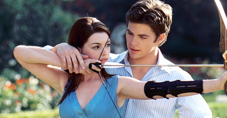 Image result for anne hathaway and chris pine