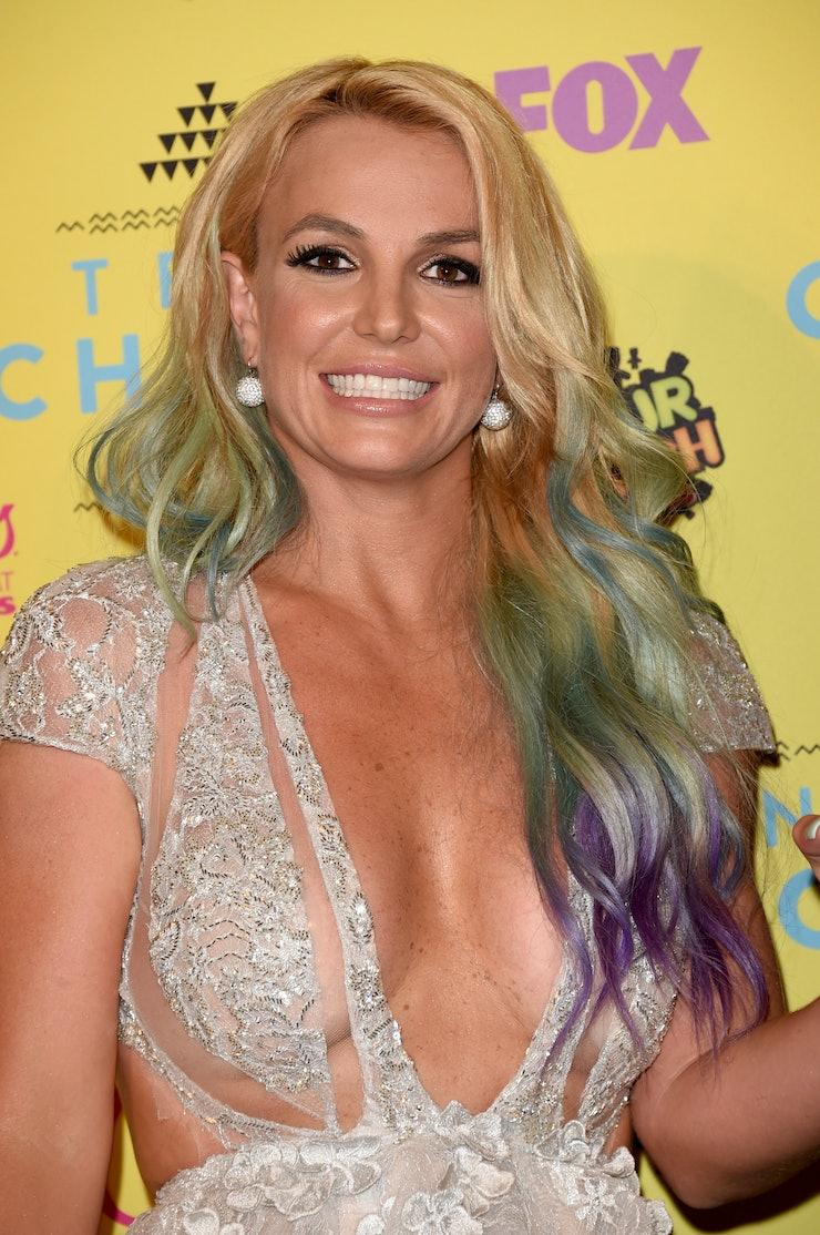 Britney spears hook up lyrics