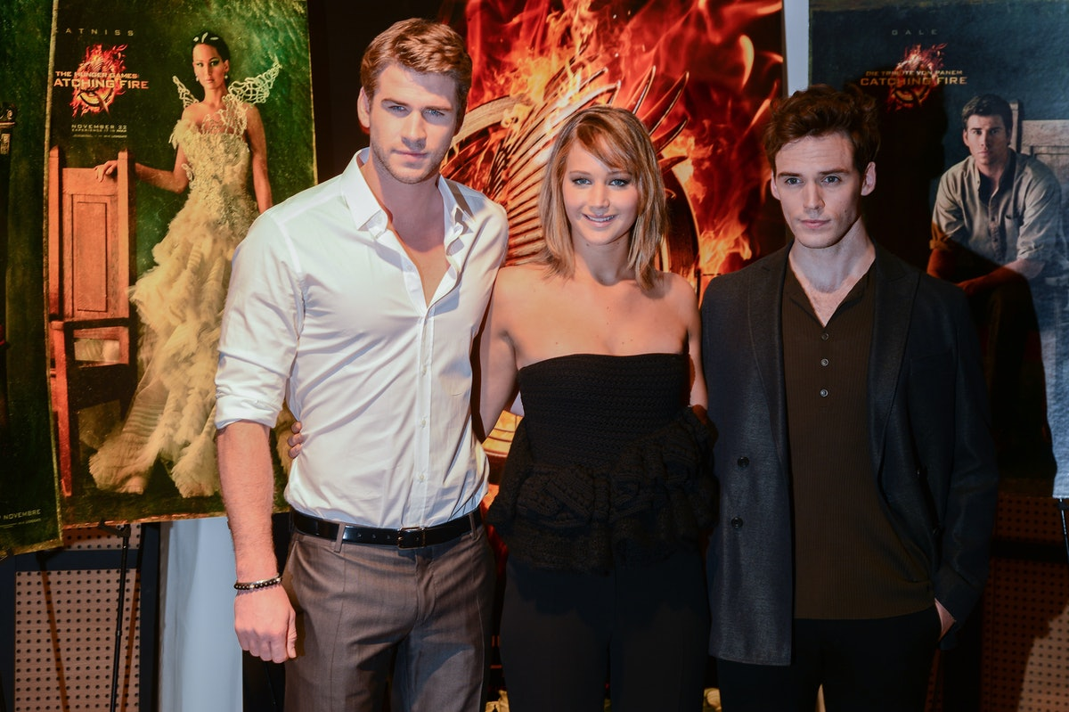 As 'HUNGER GAMES' CAST...
