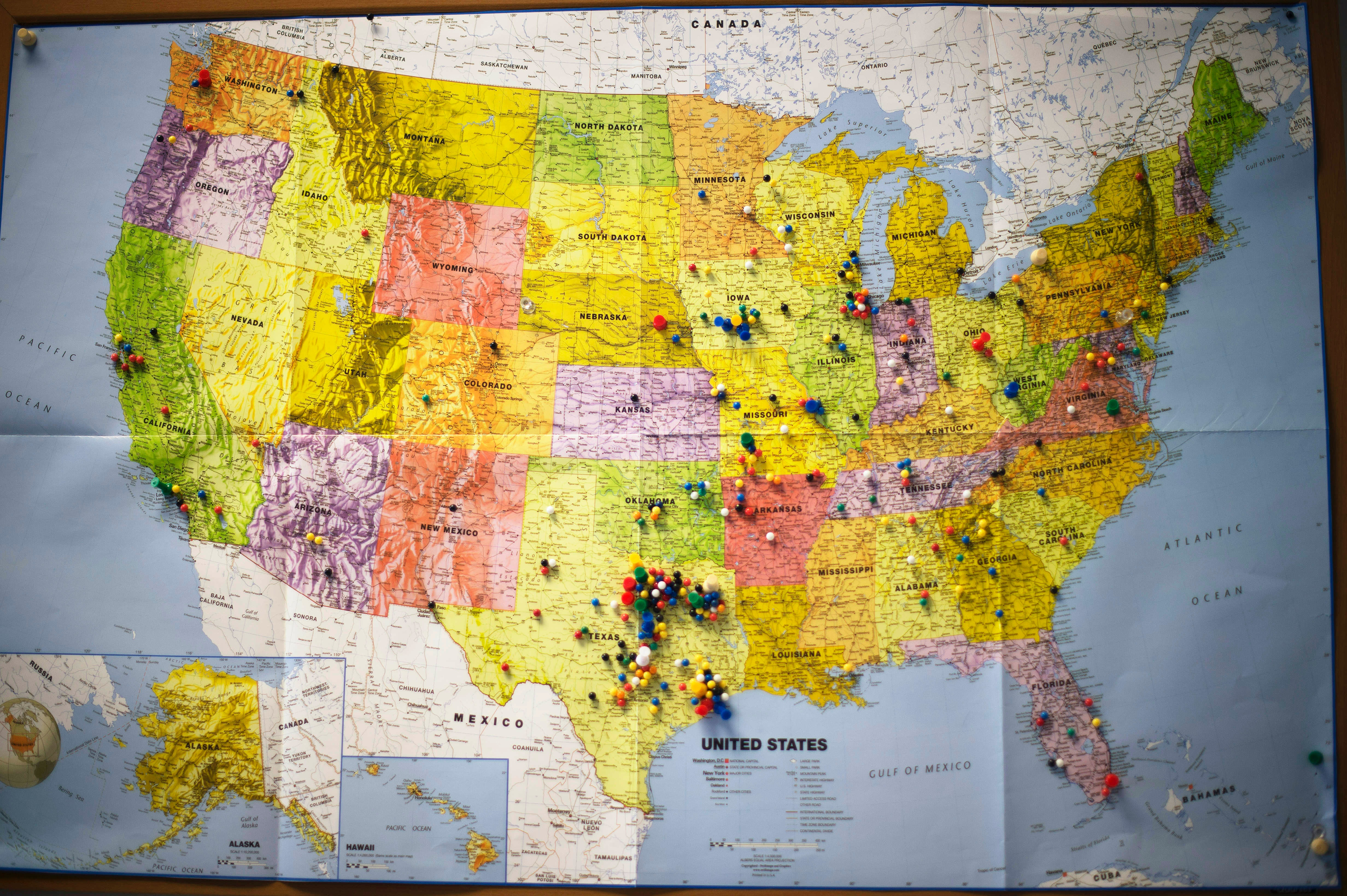 How Many States Are Swing States The 2016 Election Is Busy Drawing Its Battle Lines