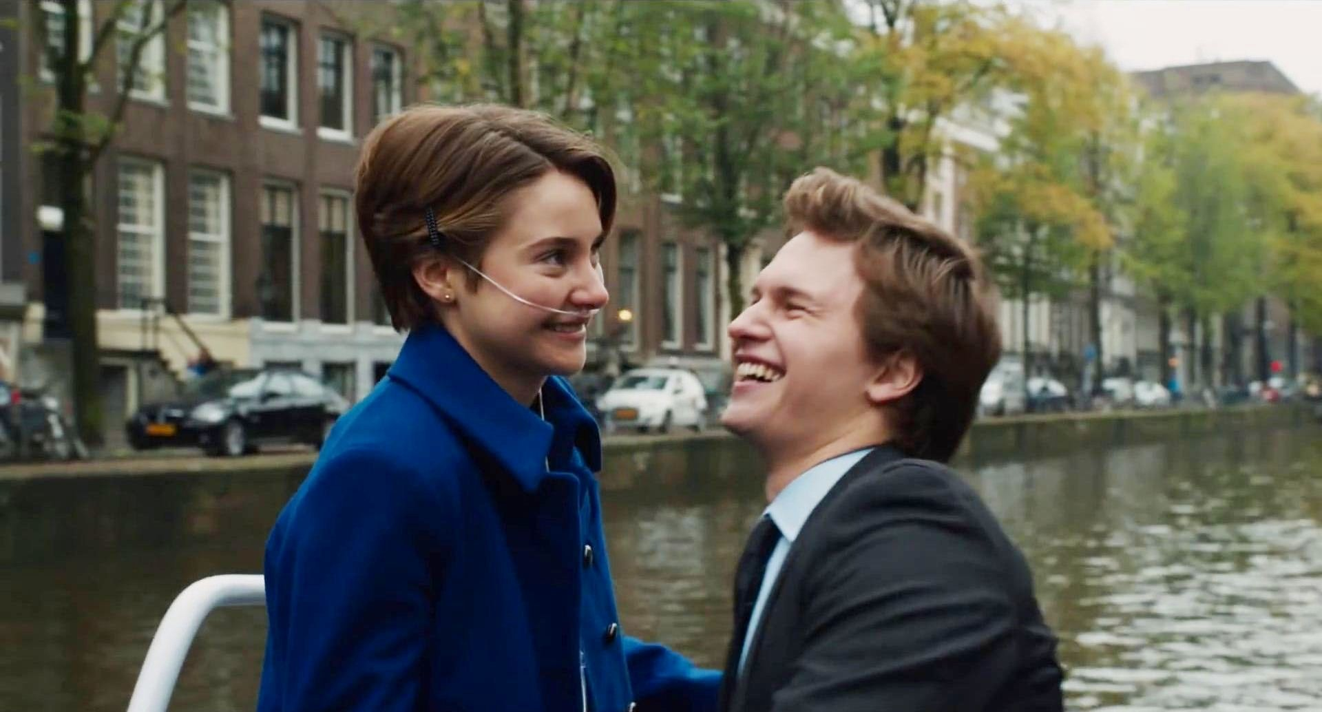 The Fault In Our Stars Movie Augustus Waters Scene