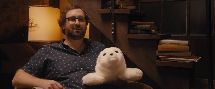 Image result for master of none stuffed seal