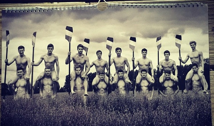 Total Frat Move   Naked Rowers Charity Calendar Wins