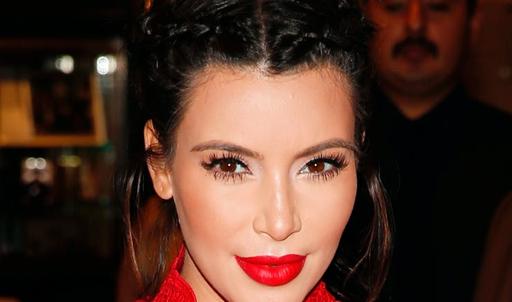 Miraculous Get Kim Kardashians Braids From Christmas Eve In A Few Simple Hairstyle Inspiration Daily Dogsangcom