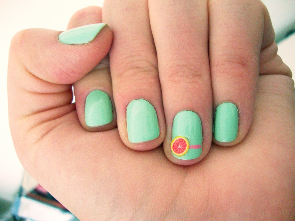 7 summer nail art ideas to try when youre lounging poolside prinsesfo Image collections