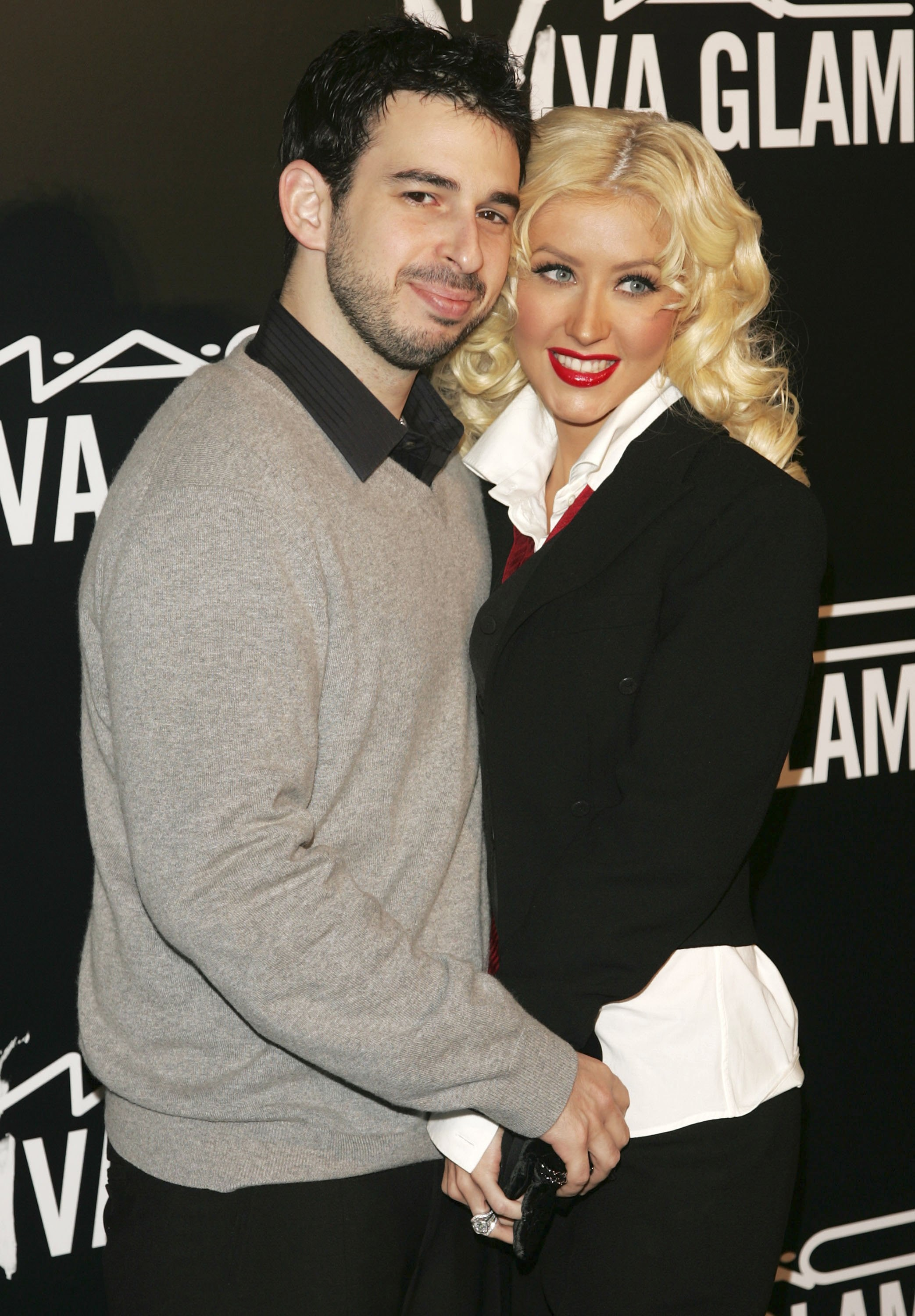 Jordan Bratman with ex-wife Christina Aguilera