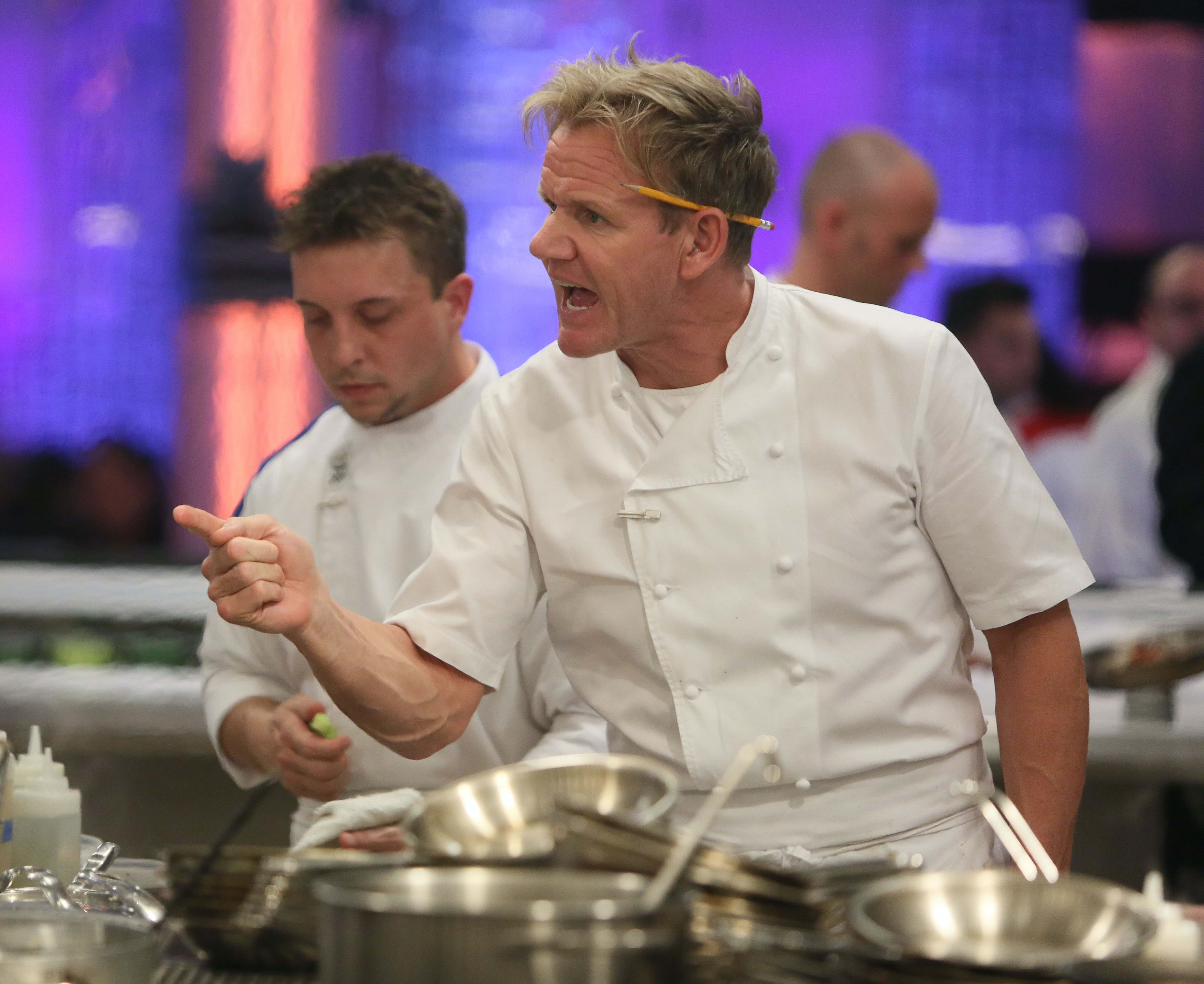 is hell s kitchen chef gordon ramsay nice in real life he likes