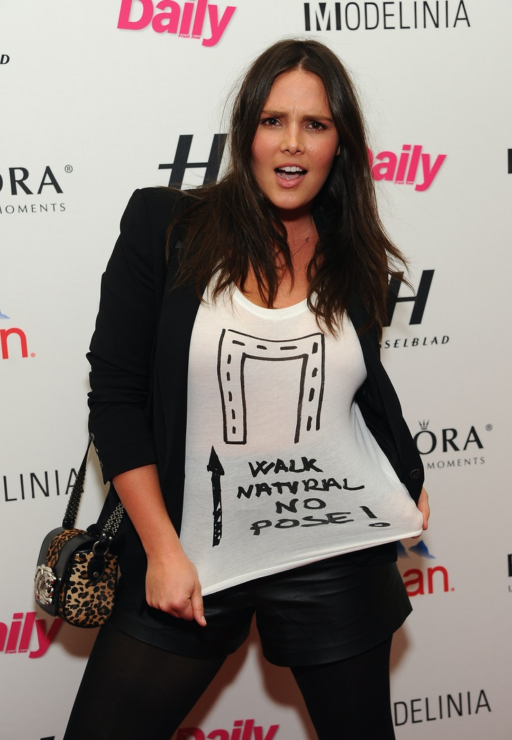 Candice Huffine is the Pirelli Calendar's First Plus-Size ...