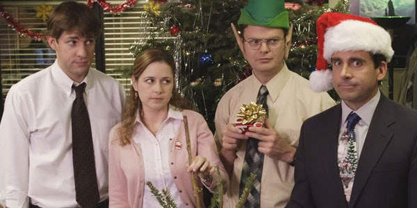 Image result for christmas party the office