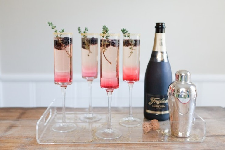9 delicious champagne cocktails to celebrate a sparkling