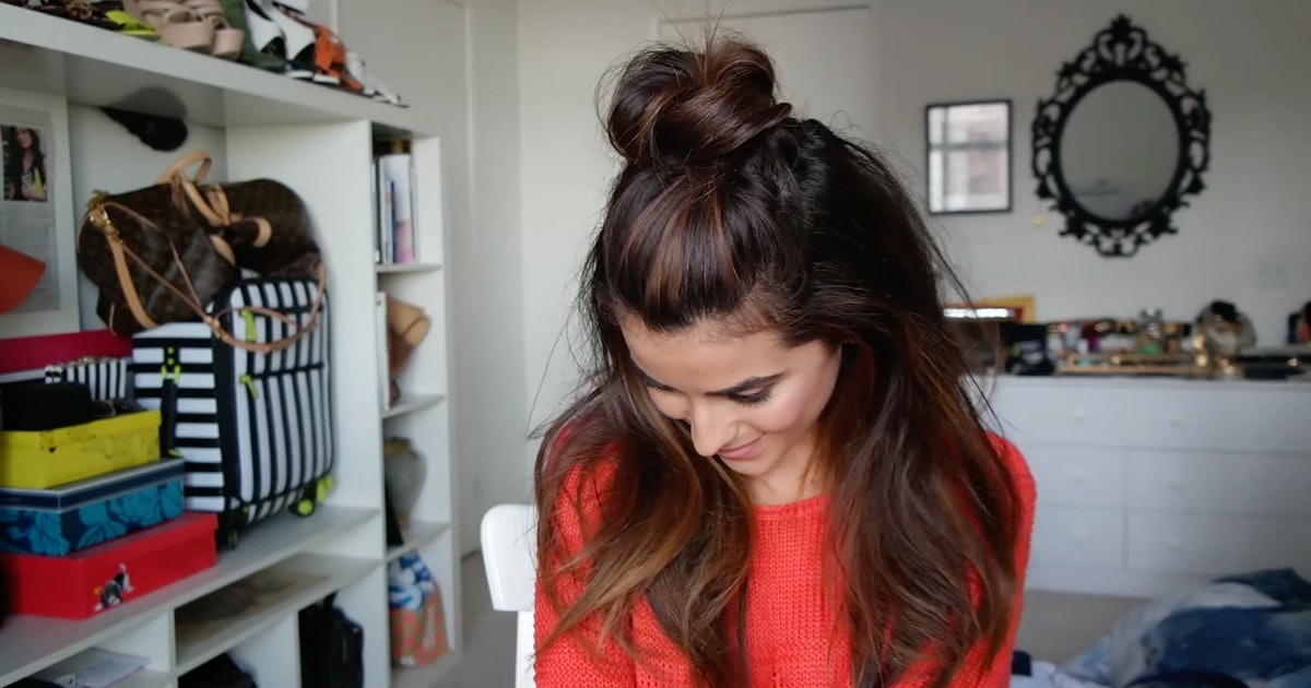 10 Quick Amp Easy Greasy Hairstyles For When You Can T Be