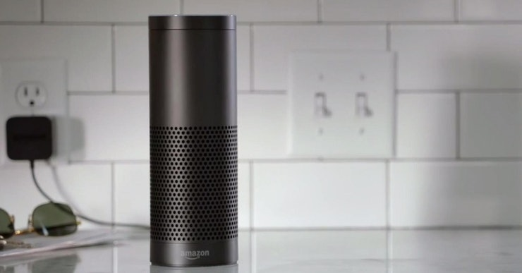 How does amazon s echo work exactly the cylinder speaker is weird