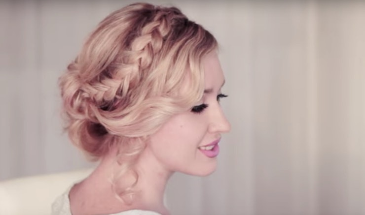 Prom Hairstyles For Above Shoulder Length Hair : Prom hairstyles for medium length hair that you