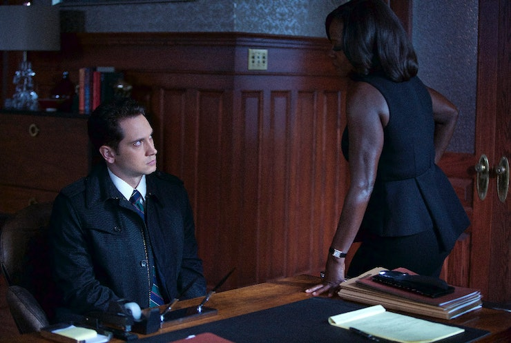 asher in how to get away with murder