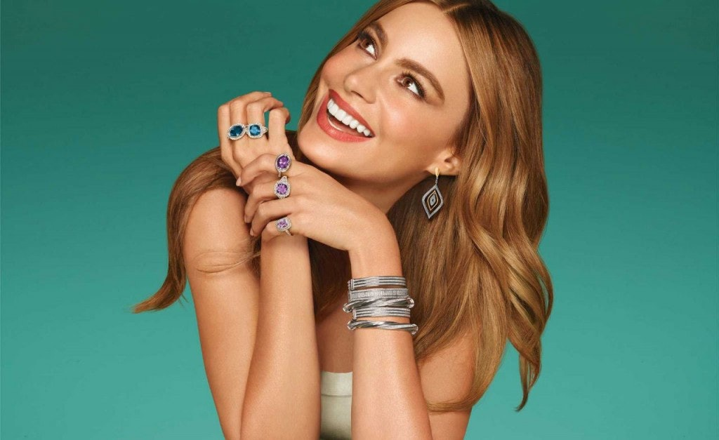 sofia vergara tells us about her kay jewelers collection u2014 classic and bedazzled items gloria would love