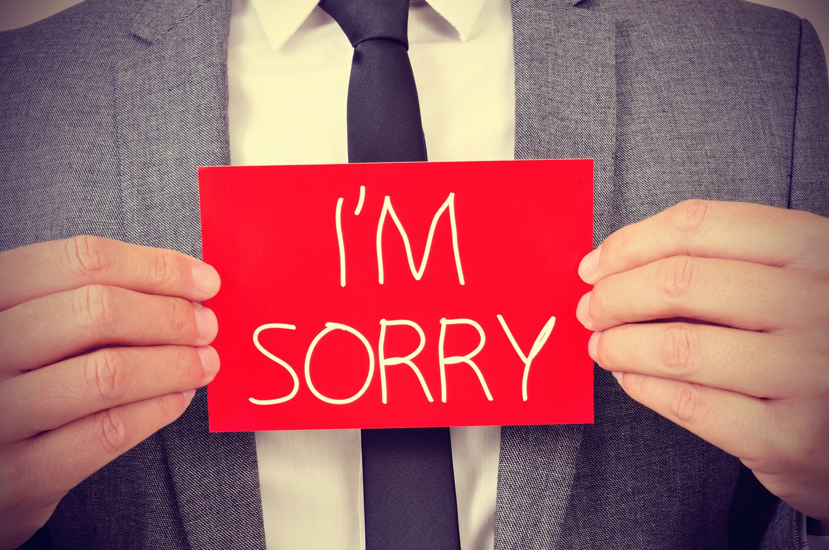 Are You Quick To Apologize? New Research Shows Which Personality Types Are  More Likely To Say Sorry