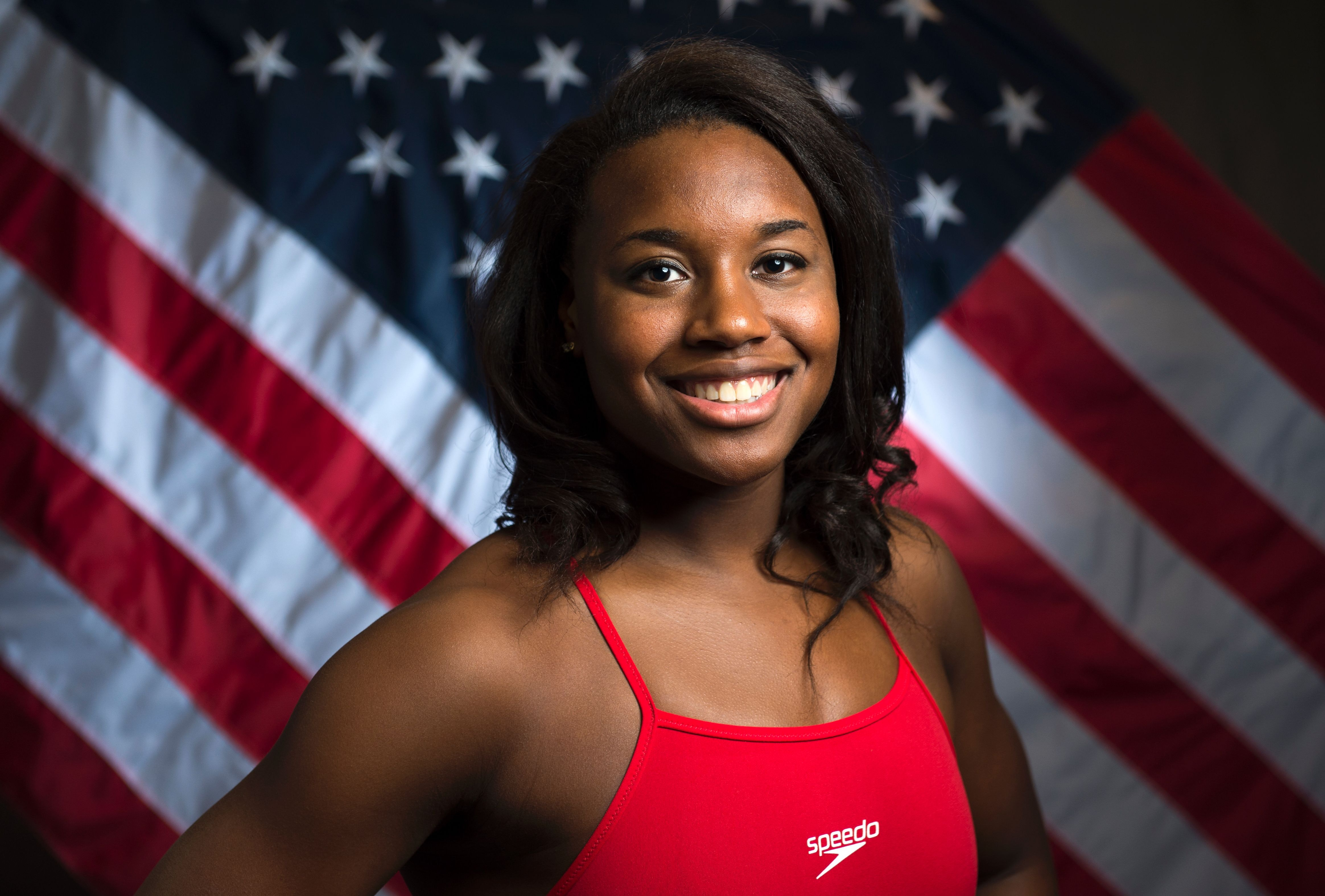 Simone Manuel earned a  million dollar salary - leaving the net worth at 0.1 million in 2018