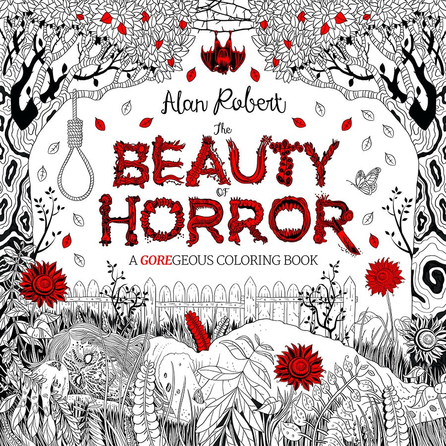 this creepy coloring book will give you all of the nightmares