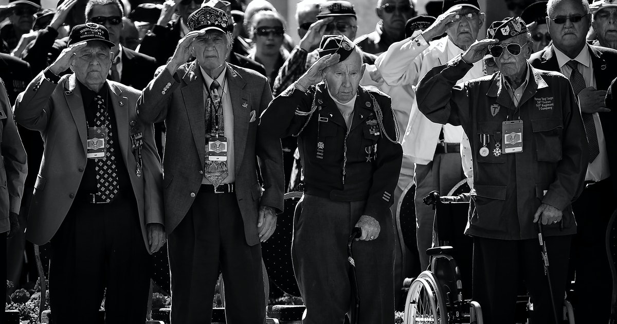 DDay 70th anniversary Veterans and leaders attend