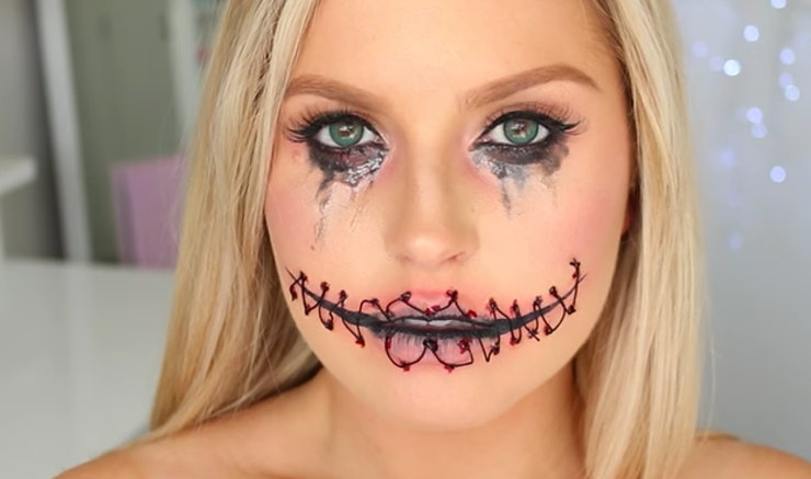 11 Realistic Halloween Makeup Tutorials For The Most Hardcore ...