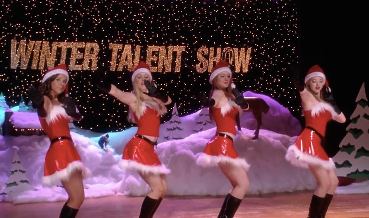 """How To Do The 'Mean Girls' """"Jingle Bell Rock"""" Dance In 15 Easy Steps"""