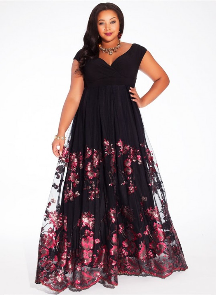 33 plus size wedding guest dresses for curvy ladies