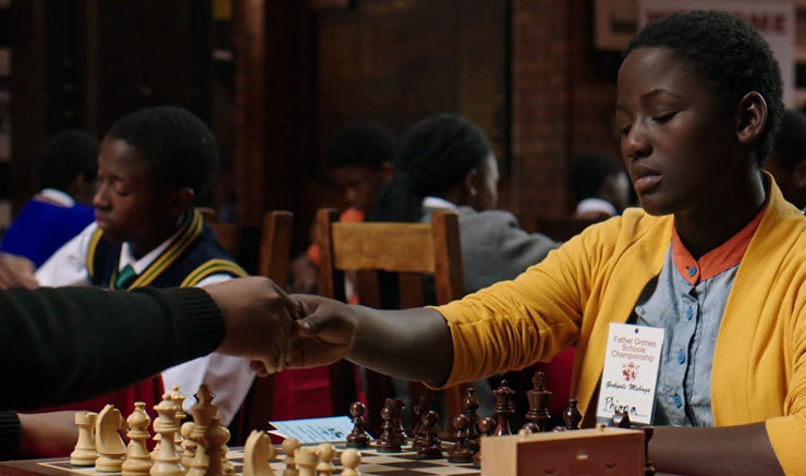 Image result for queen of katwe school chess scene