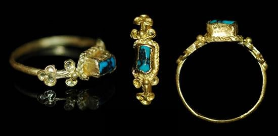 a history of engagement ring trends from the roman era to today - Medieval Wedding Rings
