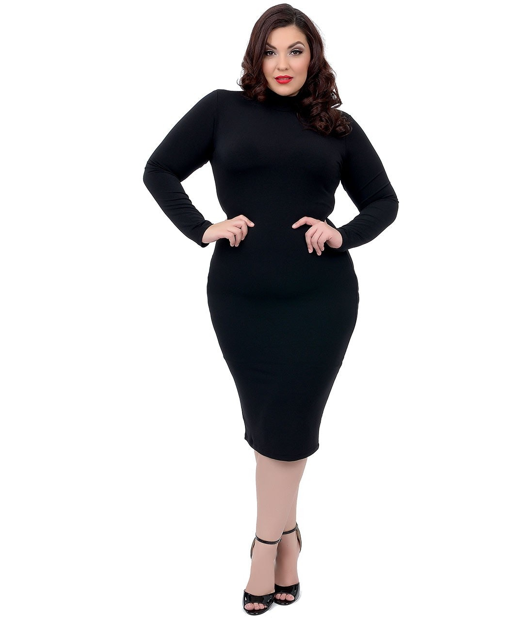 Black dress big size - 33 Plus Size Dresses To Wear On Valentine S Day No Matter Your Relationship Status