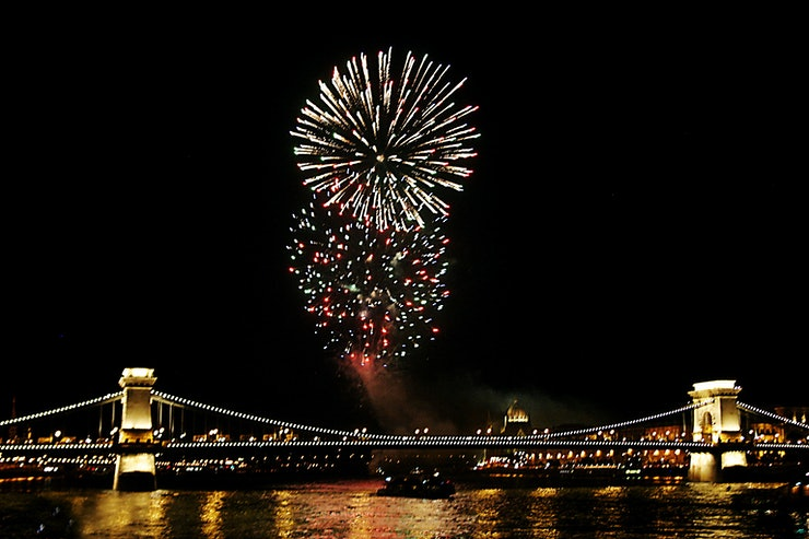 Boston New Years Eve Fireworks