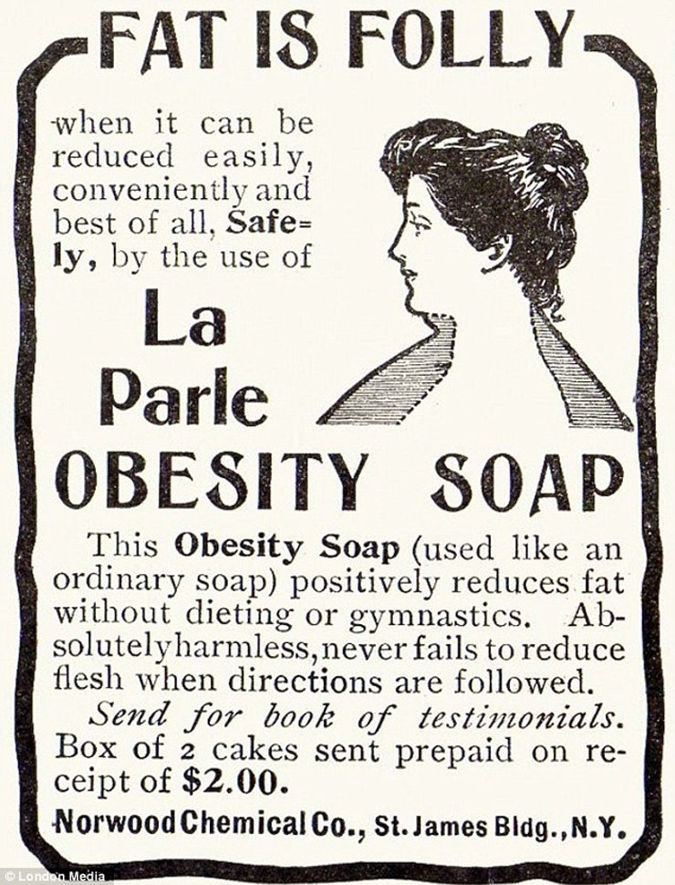12 Crazy Diet And Exercise Fads In History, From Tapeworms