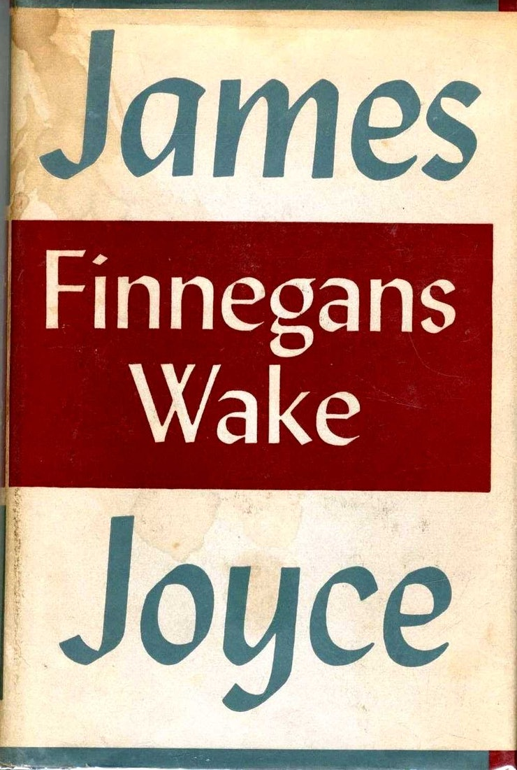 James Joyce  Finnegans Wake Chap 11  Genius