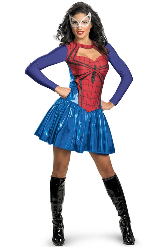 22 cool plus size halloween costumes - Spider Girl Halloween Costumes