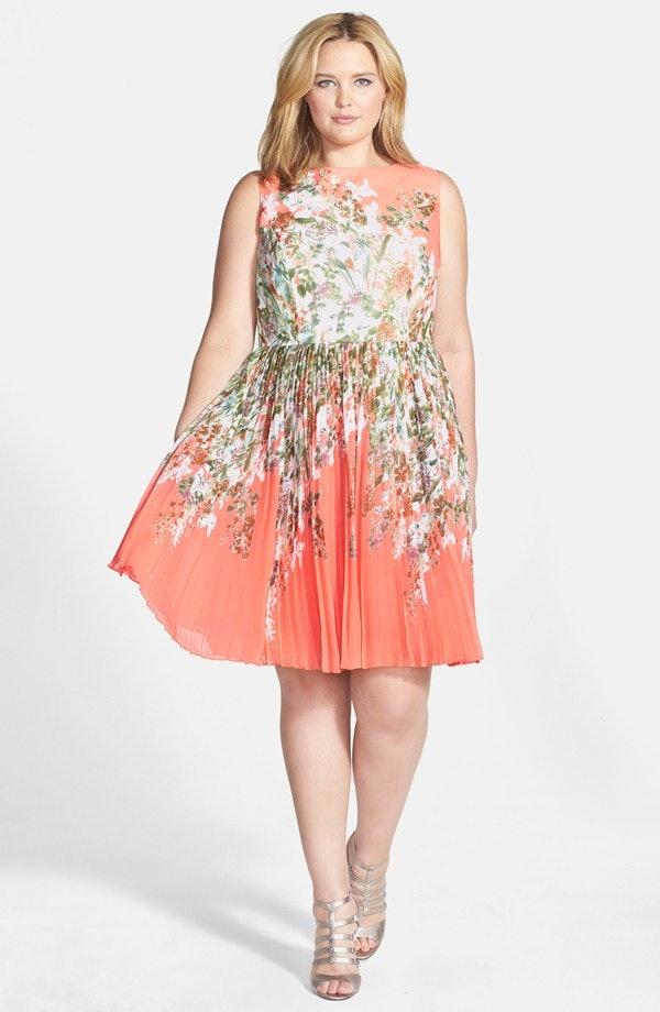 Plus Size Garden Party Dress