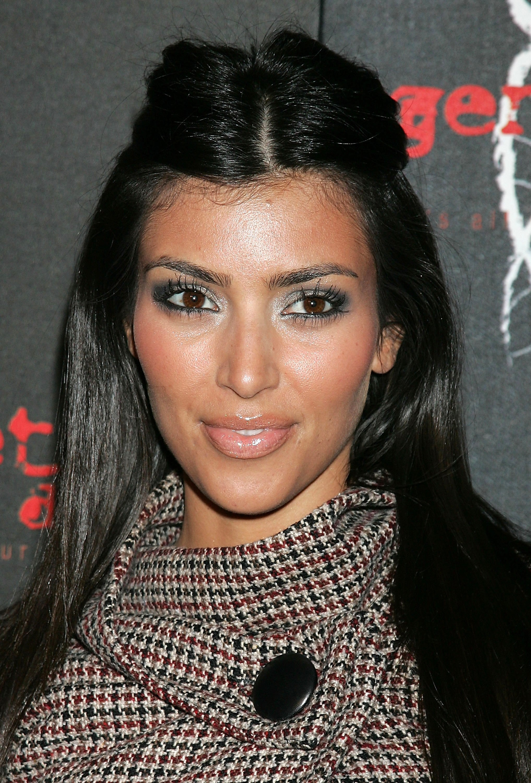 Enjoyable 57 Photos Of Kim Kardashian That Look Nothing Like Kim Kardashian Short Hairstyles Gunalazisus