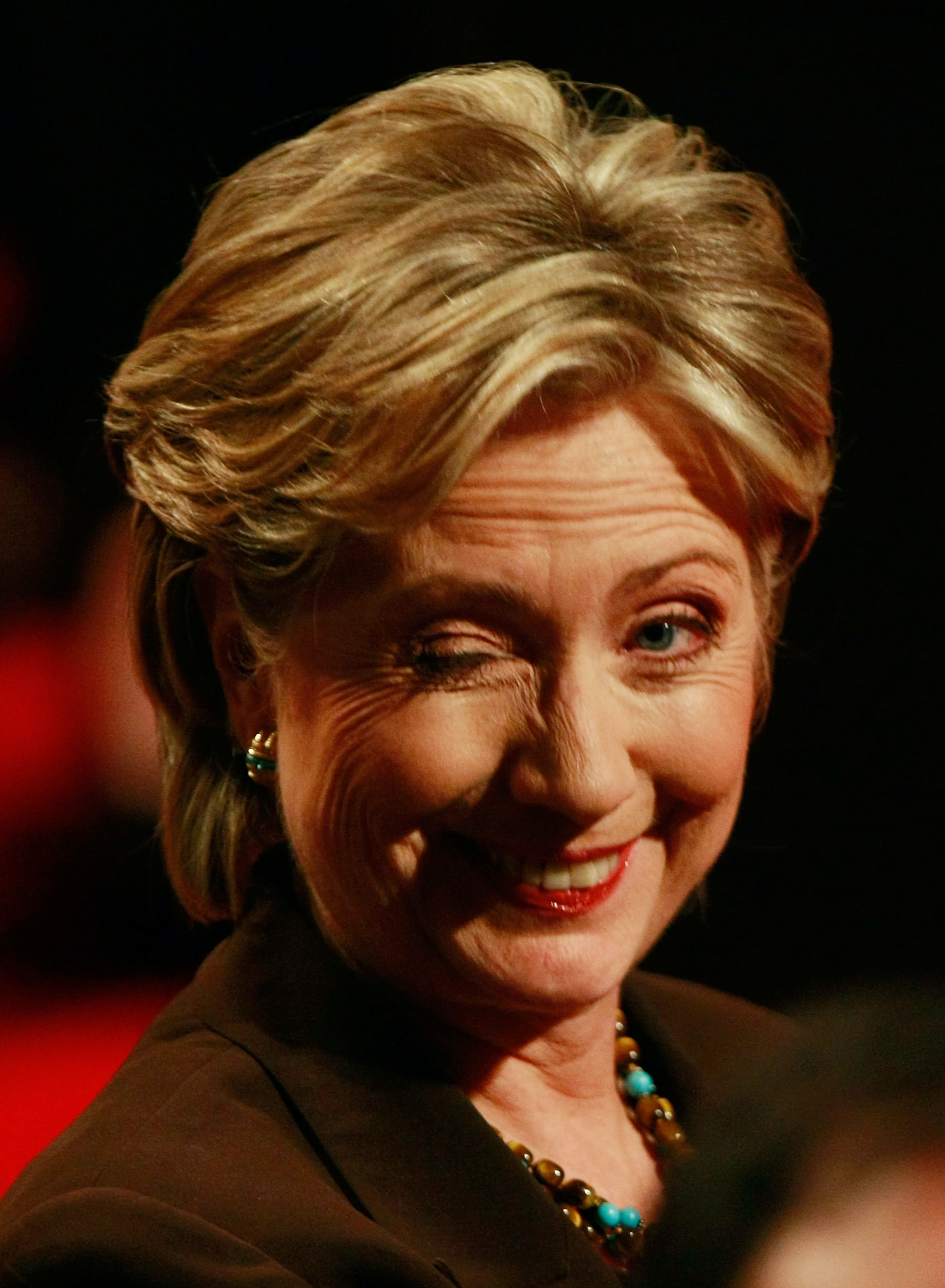 Image result for hillary wink