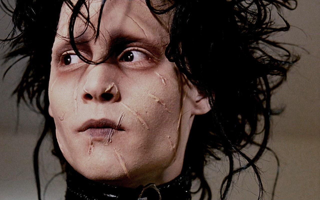 Image result for johnny depp edward scissorhands