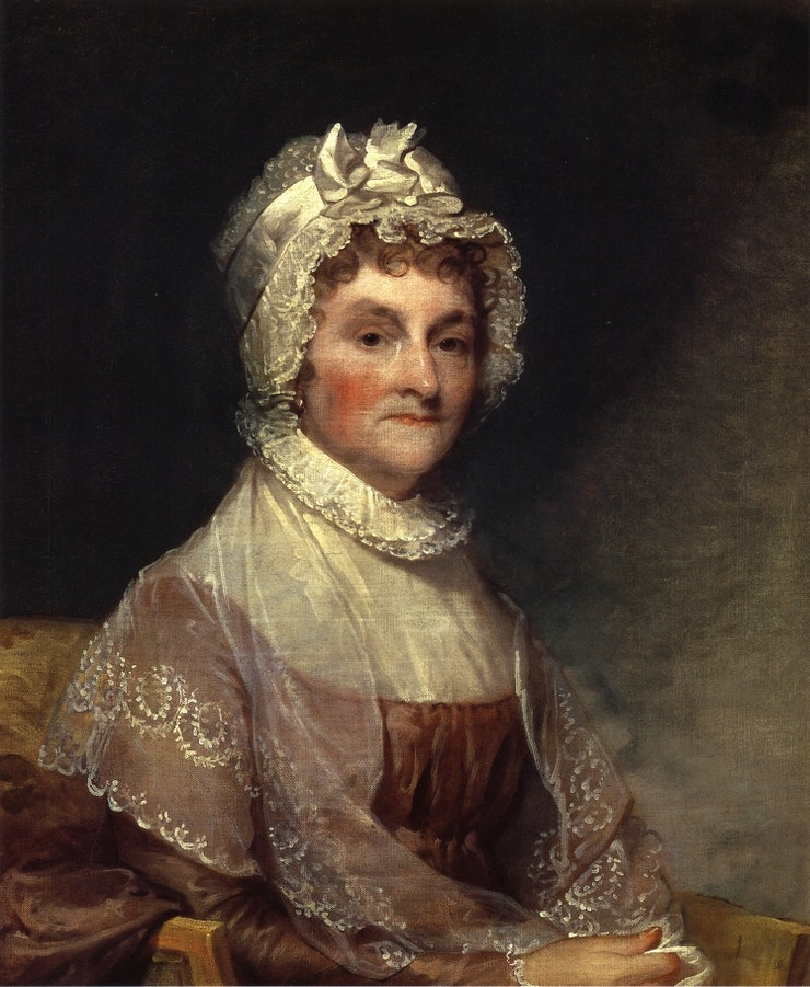 abigail adams role of women history essay Abigail adams, wife of john, became an early advocate of women's rights when she prompted her husband to remember the ladies when drawing up a new government pre-revolutionary ministers, particularly in puritan massachusetts, preached the moral superiority of men.