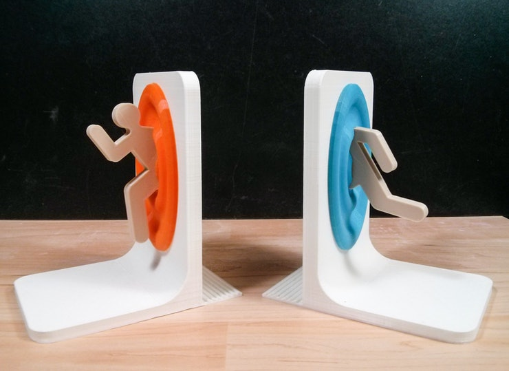 13 decorative bookends perfect for keeping your awesome library organized - Portal book ends ...
