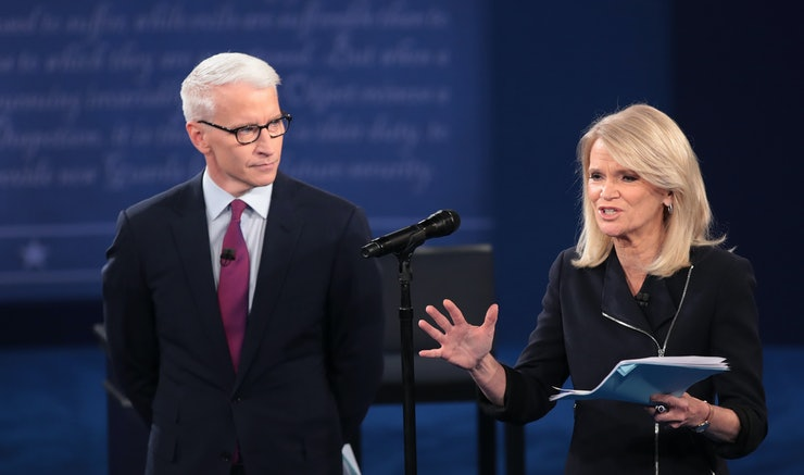 Image result for Martha Raddatz and Anderson Cooper
