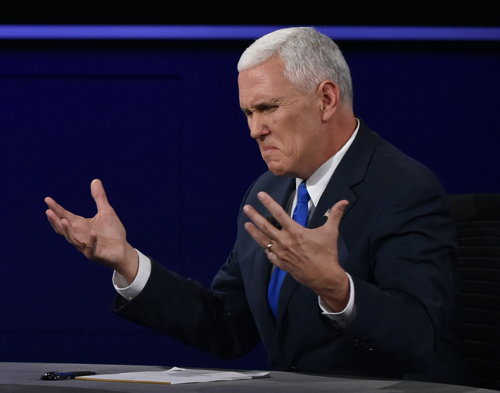 Republican VP Candidate Mike Pence Speaks in Raleigh