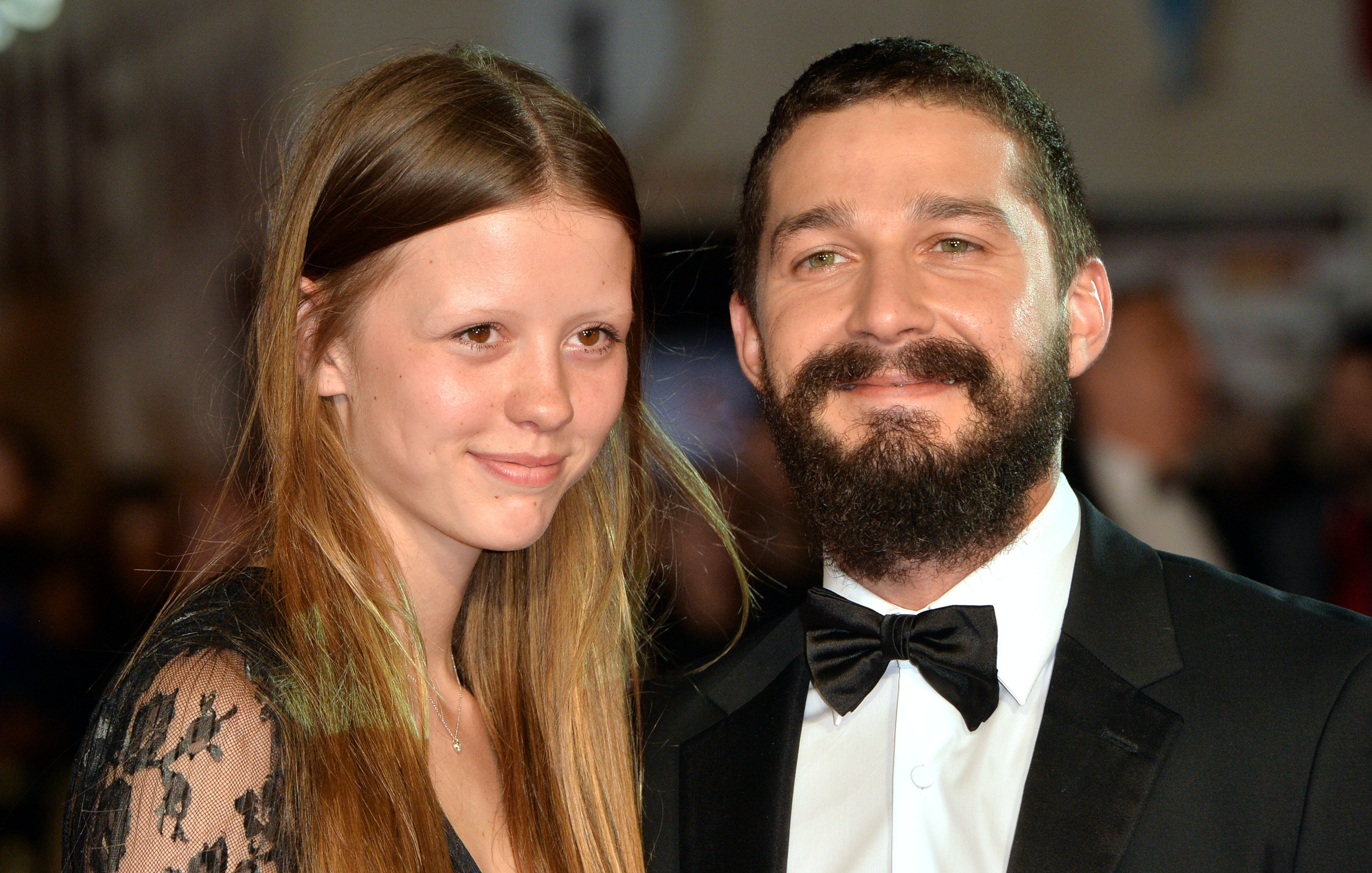 So, Shia LaBeouf and Mia Goth Live-Streamed Their Vegas Wedding