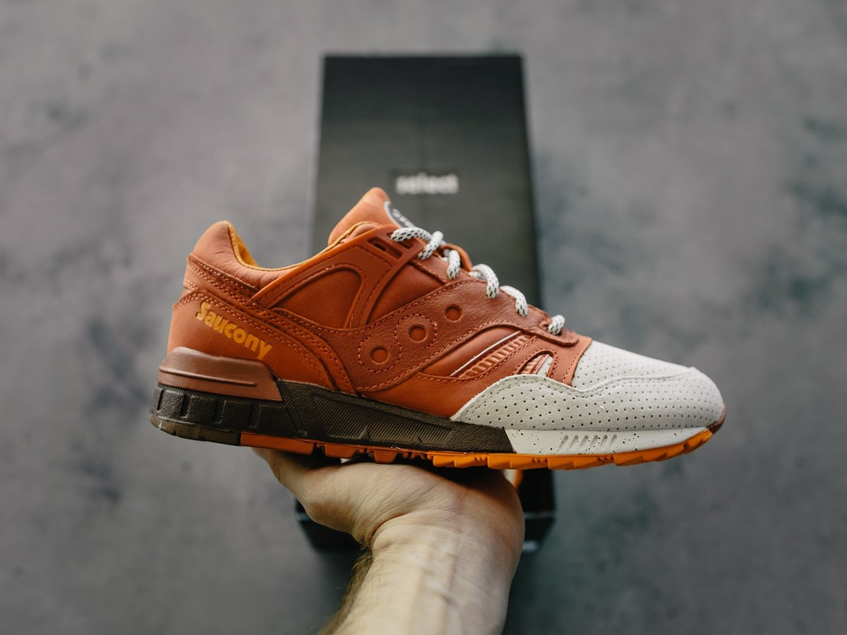 Saucony Releases Pumpkin Spice Sneakers For Fall