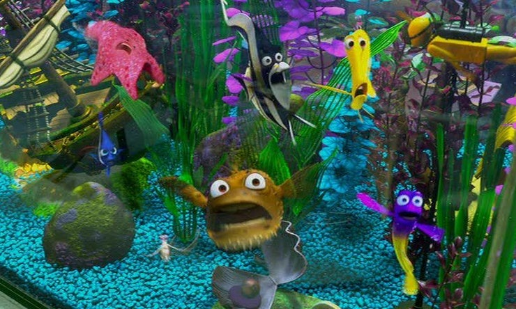 39 finding dory 39 almost included these beloved 39 finding nemo for Nemo fish tank