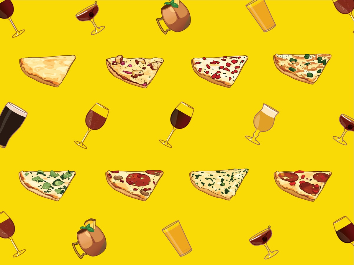 The All-Purpose Guide To Pairing Pizza & Adult Beverages