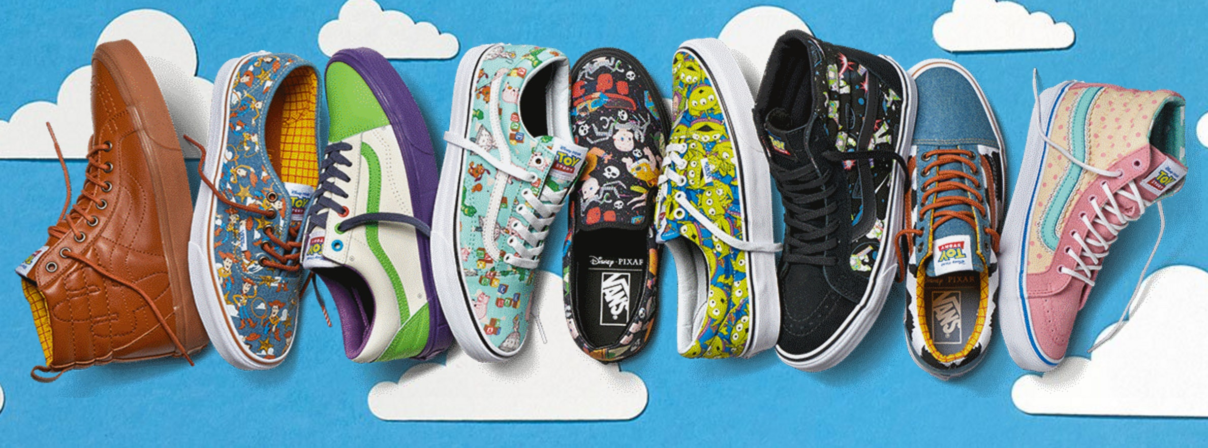 Vans X Toy Story Release
