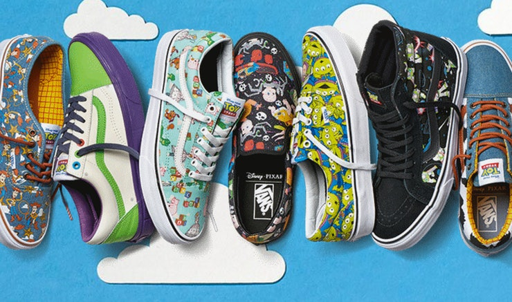 Vans X Toy Story Collection