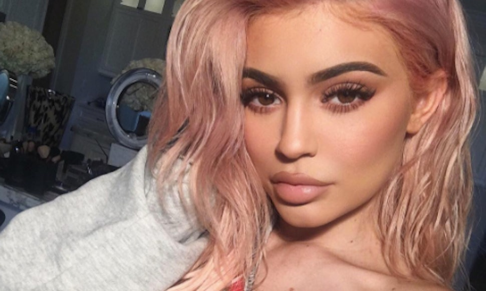Rose gold hair dyes you can use at home to get kylie for What colour roses can you get